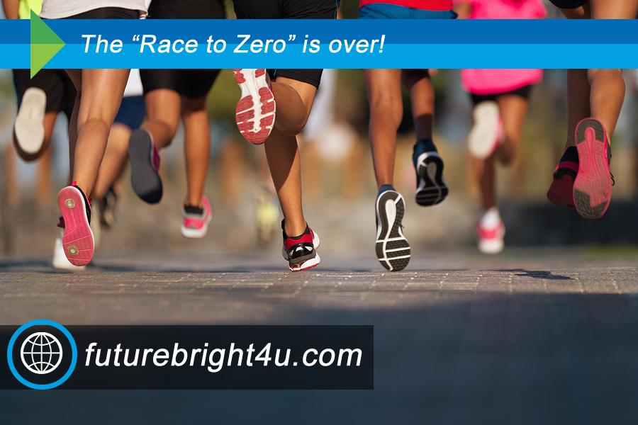 """Race to Zero"" is over!"